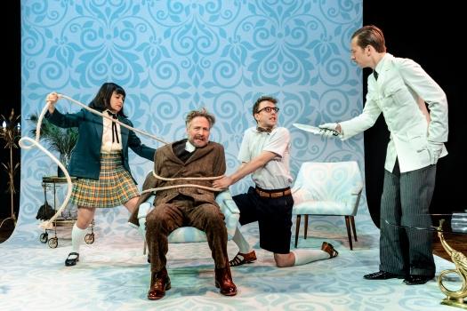 De Verschrikkelijke Wittgenstein, een voorstelling van Theater Bellevue